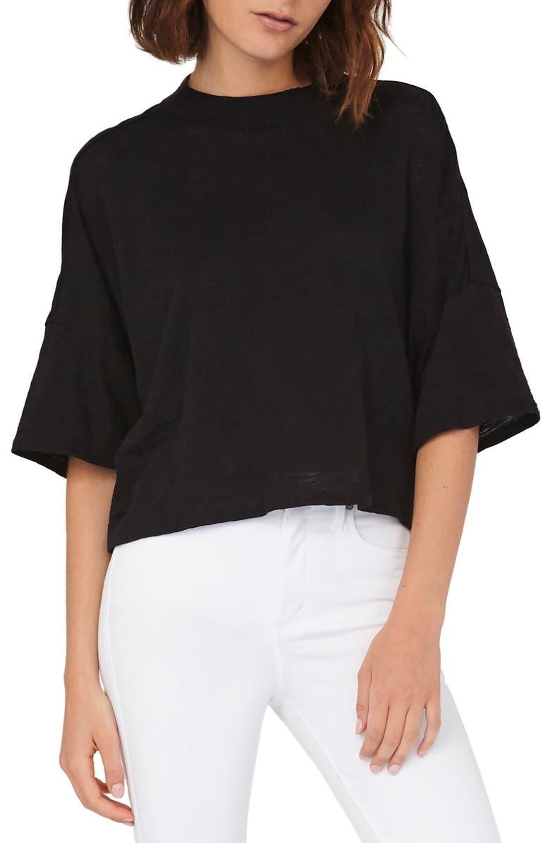 HABITUAL Elbow Sleeve Top, Main, color, 003