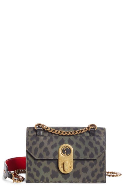 Christian Louboutin MINI ELISA CALFSKIN LEATHER CROSSBODY BAG
