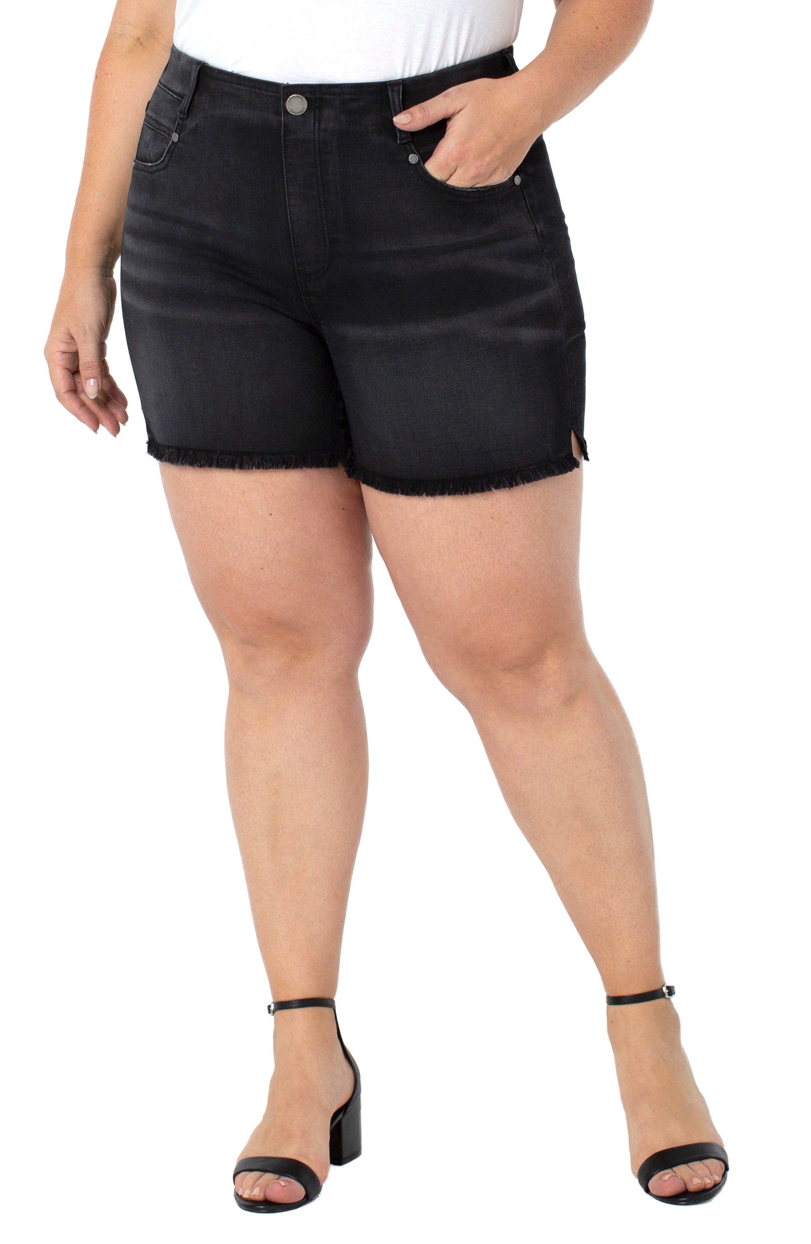 Gia Glider Denim Shorts