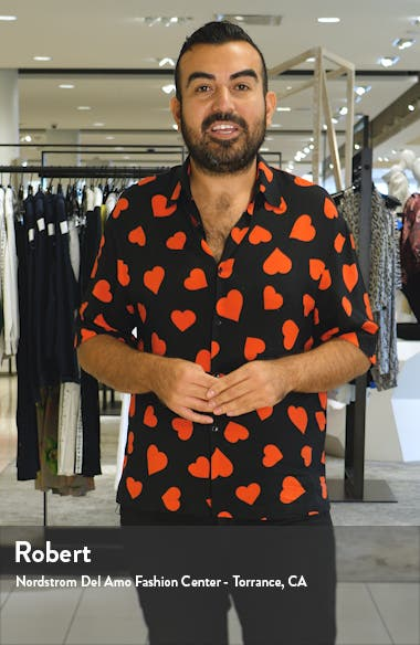Padma Floral Square Neck Long Sleeve Dress, sales video thumbnail