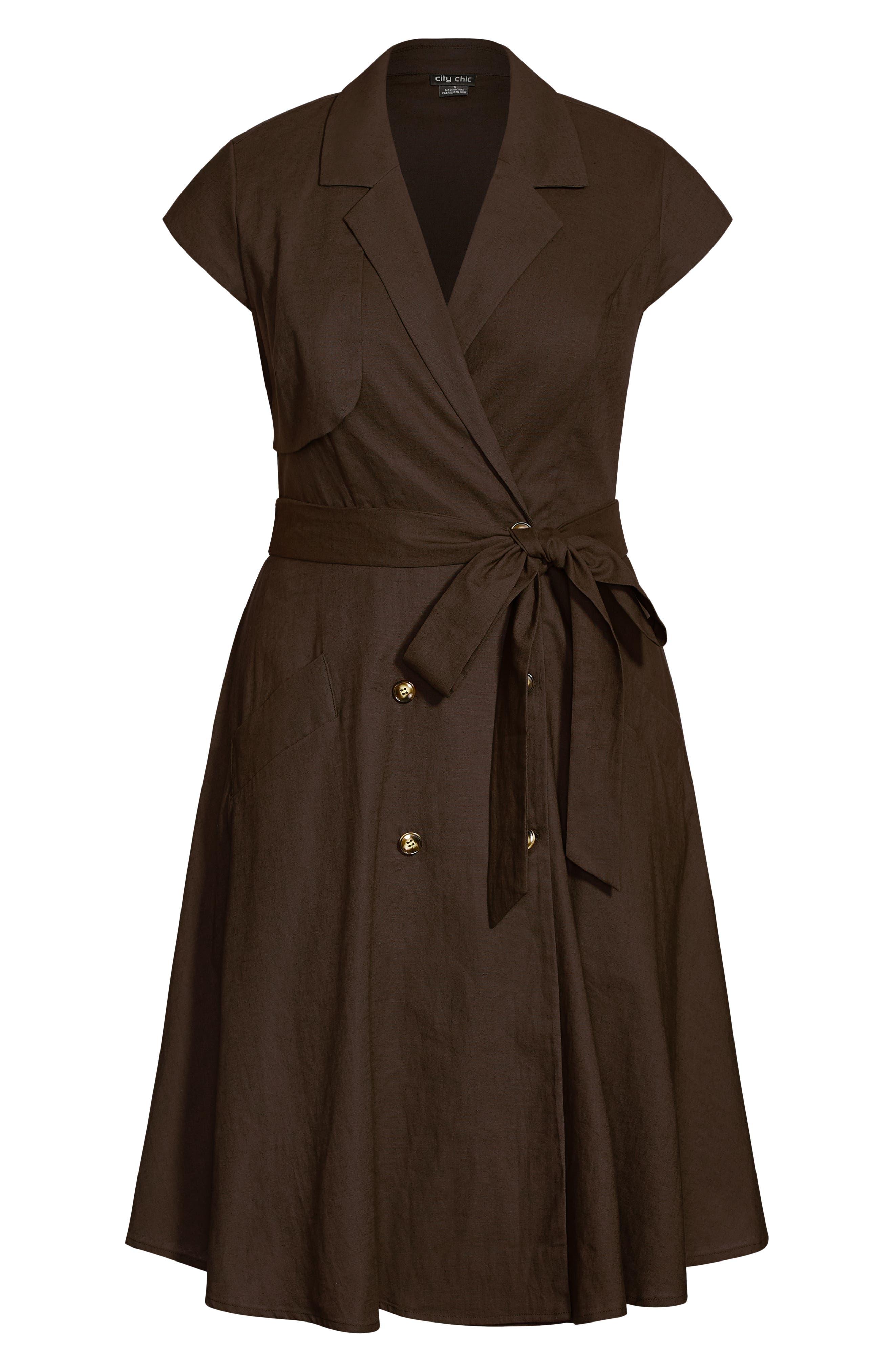 Essential Linen Blend Dress