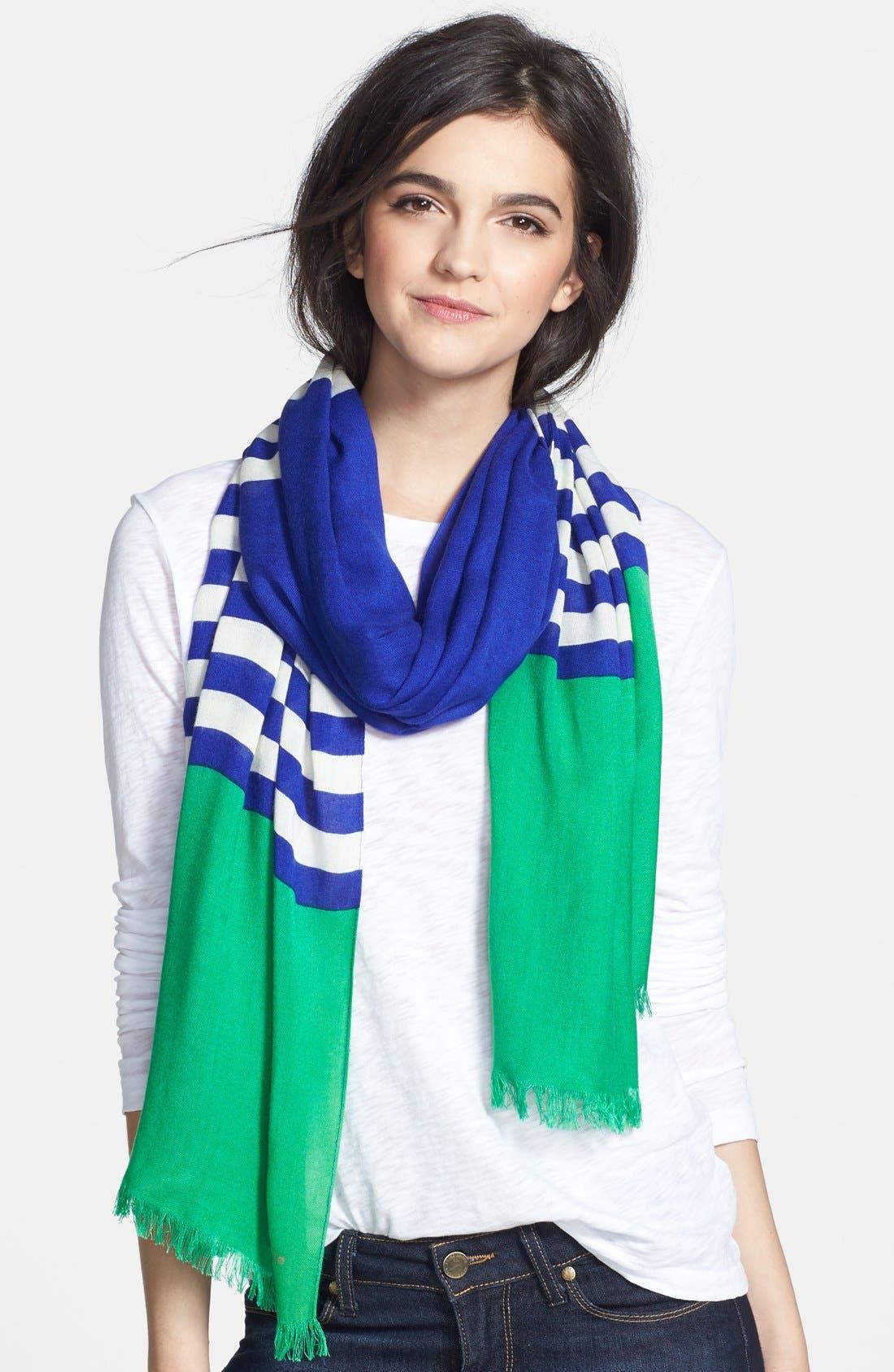 ,                             'six month stripe' scarf,                             Main thumbnail 3, color,                             400