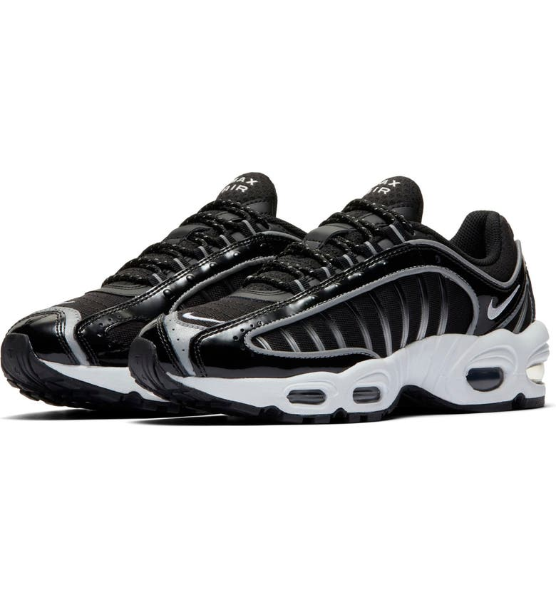 NIKE Air Max Tailwind IV Sneaker, Main, color, BLACK/ WHITE/ BLACK