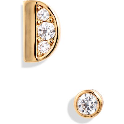 Kate Spade New York Initial Mismatched Stud Earrings