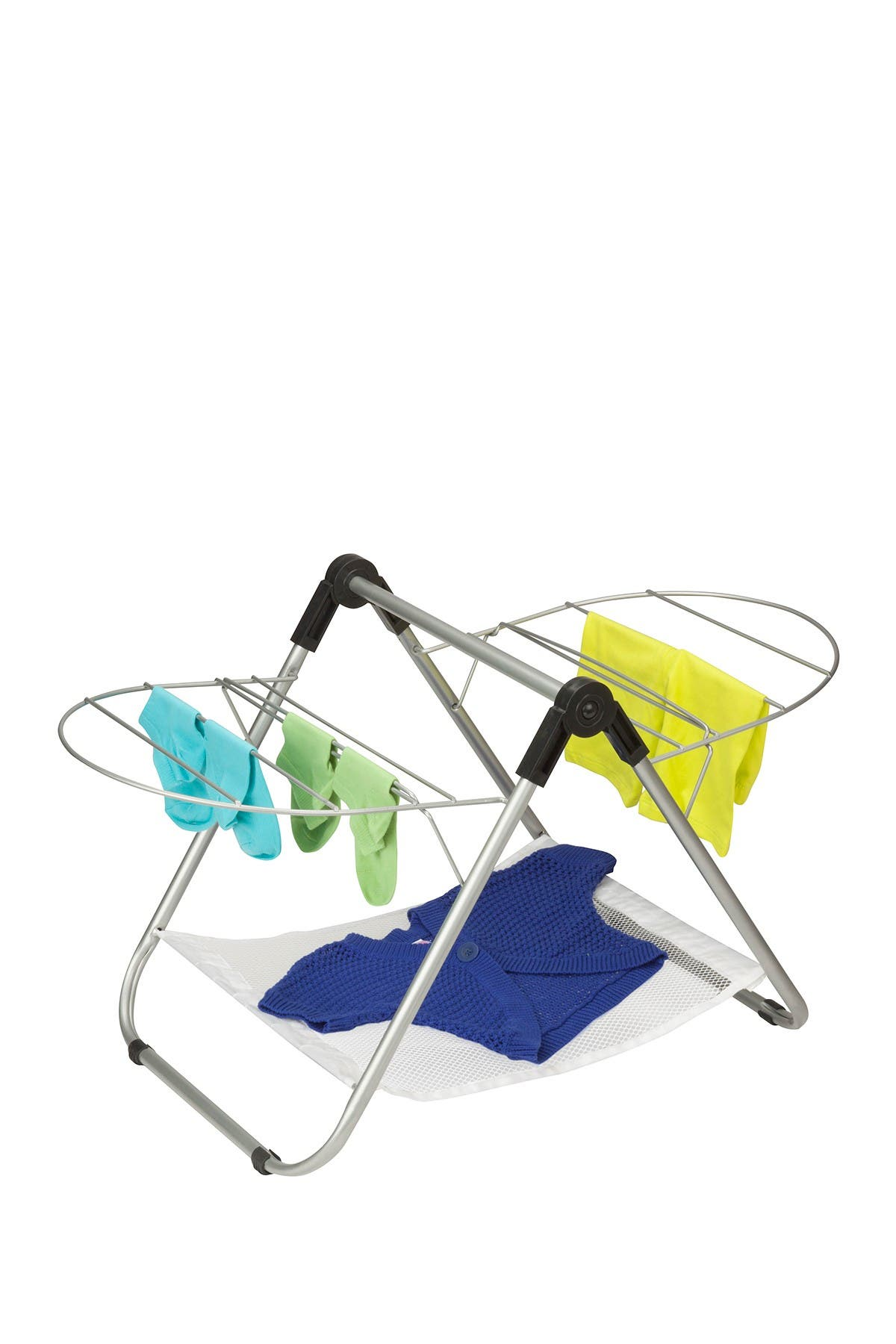Image of Honey-Can-Do Silver Tabletop Drying Rack