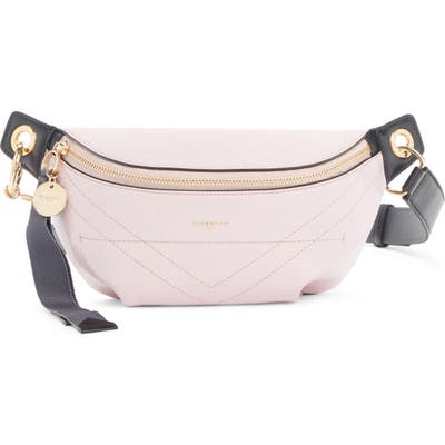 Givenchy Quilted Leather Belt Bag - Pink