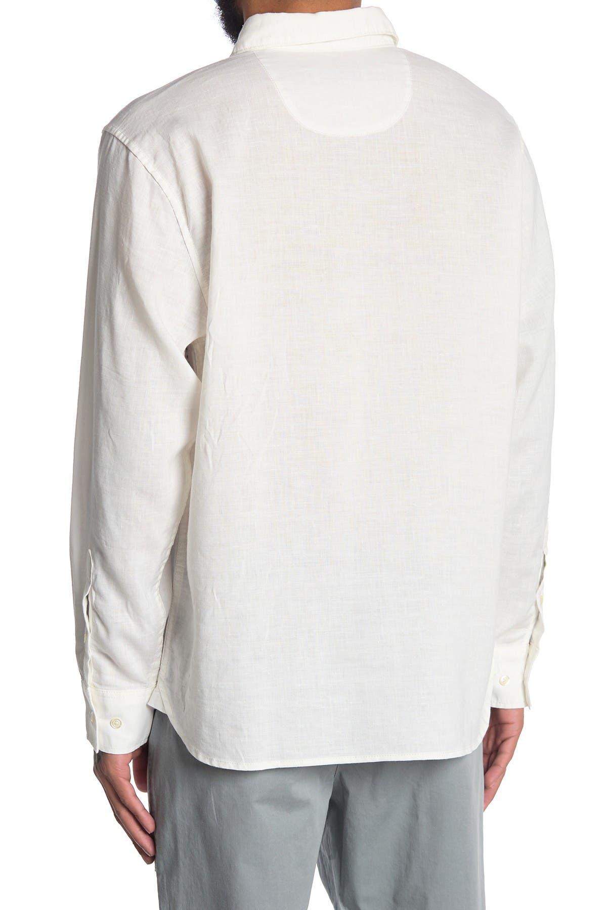 Image of Tommy Bahama Ink Wash Floral Regular Fit Shirt