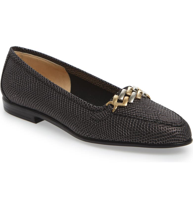 AMALFI BY RANGONI Oste Loafer, Main, color, GRAPHITE PRINTED NUBUCK