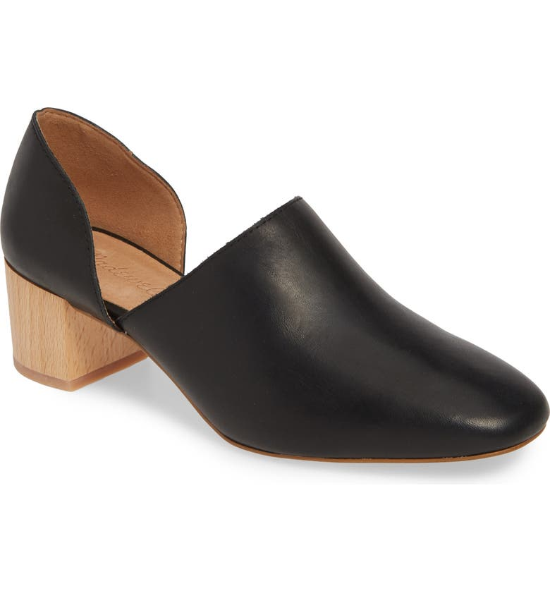 MADEWELL The Kirstie d'Orsay Bootie, Main, color, 001