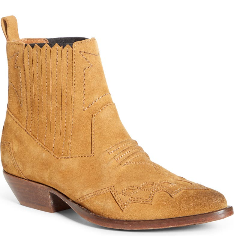 ROSEANNA Tucson Western Boot, Main, color, SABLE