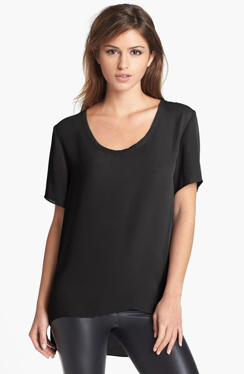 LEITH Split Hem Tunic, Main, color, 001