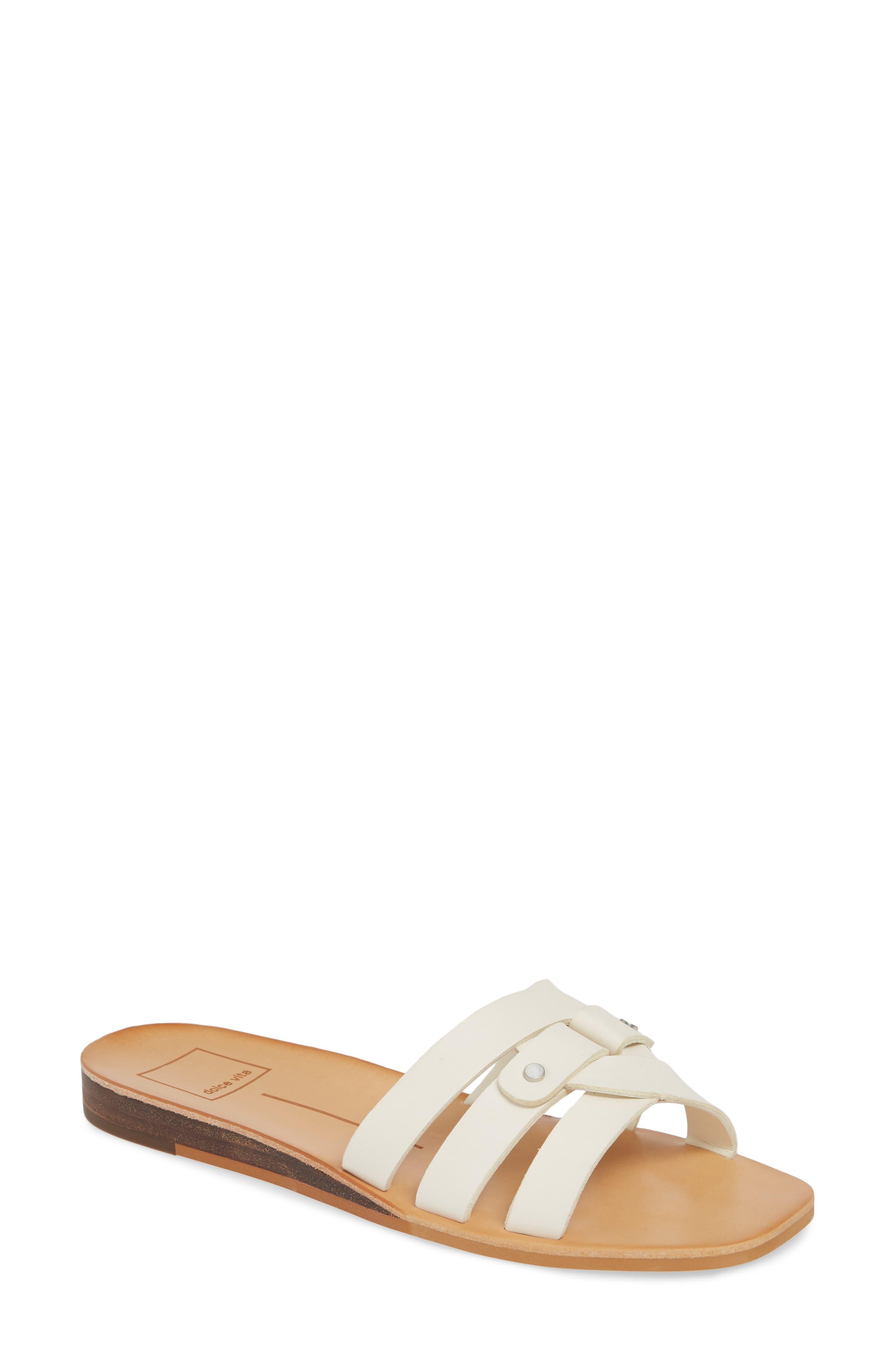 Dolce Vita Cait Slide Sandal, Ivory