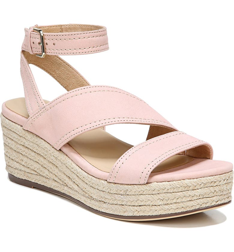 NATURALIZER Ursa Strappy Espadrille Sandal, Main, color, DUSTY ROSE