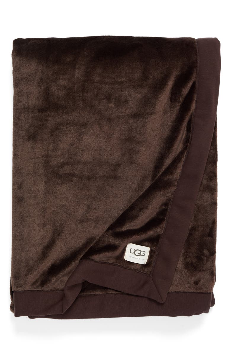 UGG<SUP>®</SUP> Duffield Throw, Main, color, STOUT