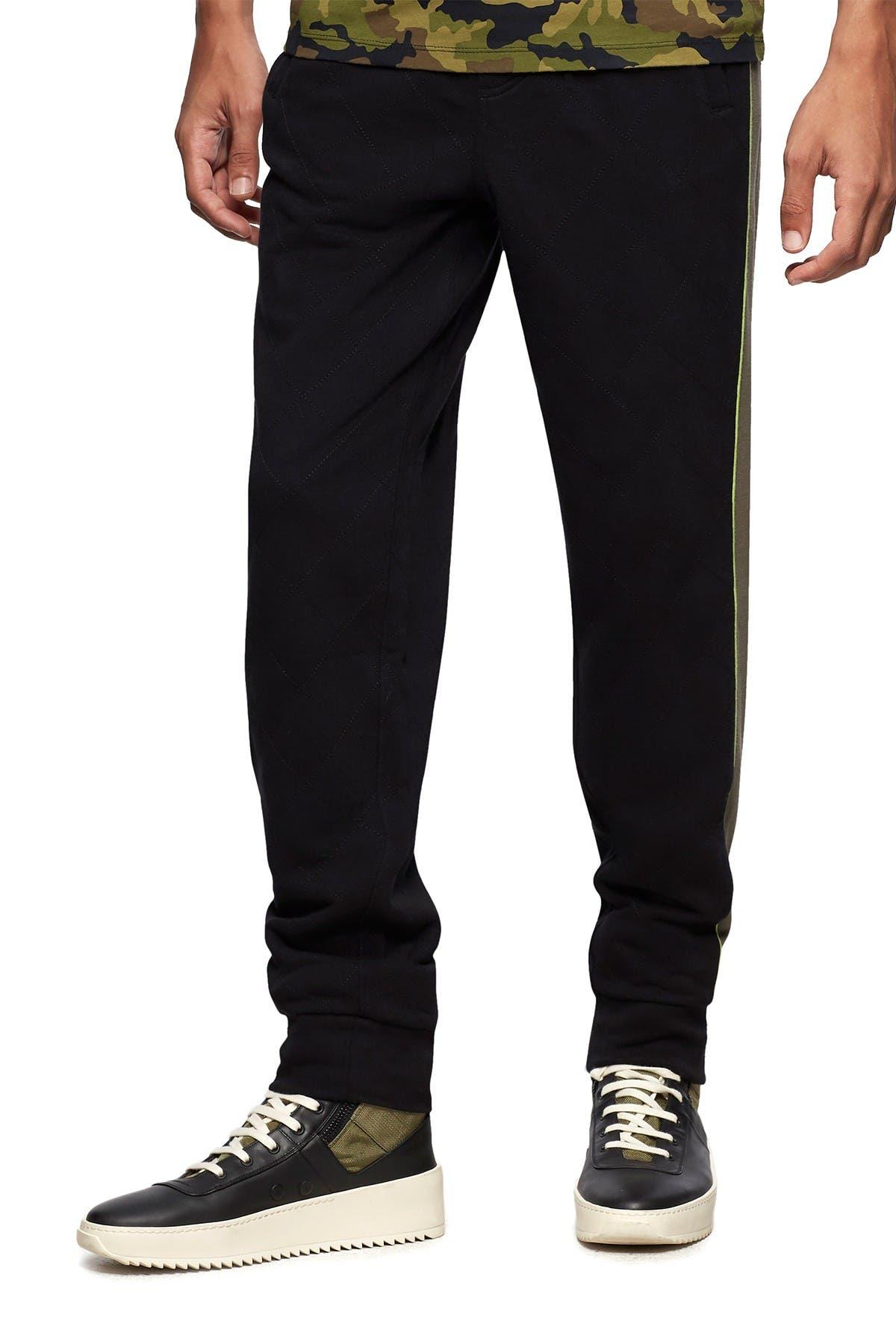Image of True Religion Striped Jogger Sweatpants