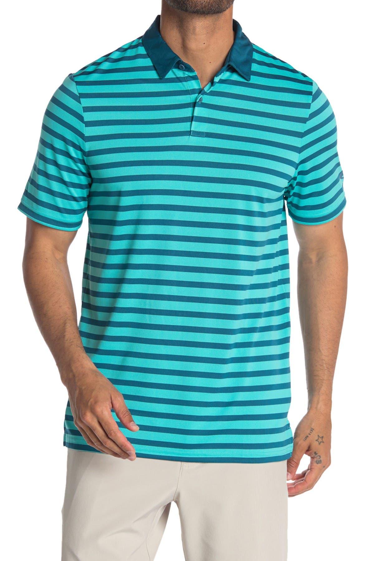 Image of Oakley Striped Golf Polo