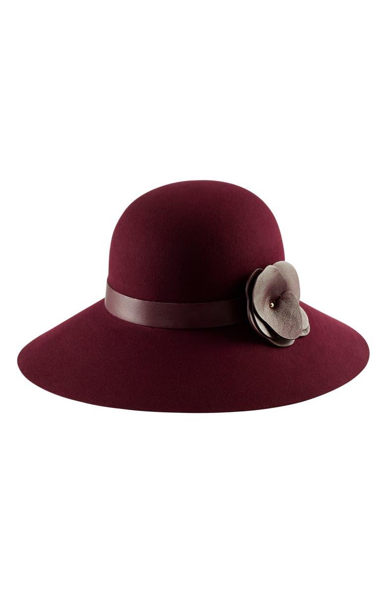 HELEN KAMINSKI Round Crown Wool Hat, Main, color, 930