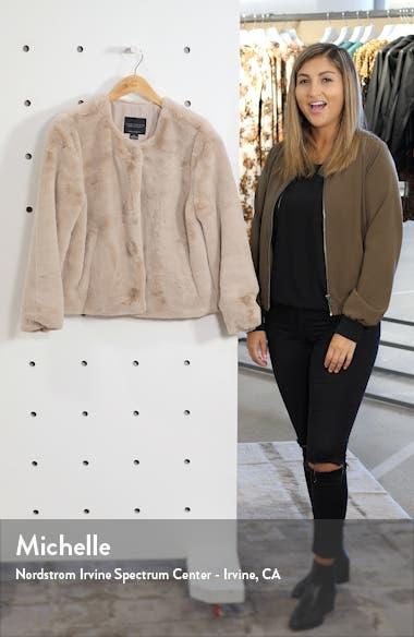 Starry Night Faux Fur Jacket, sales video thumbnail
