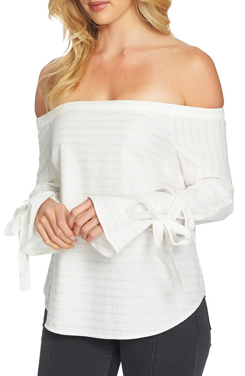 1.STATE Off the Shoulder Top, Main, color, 145
