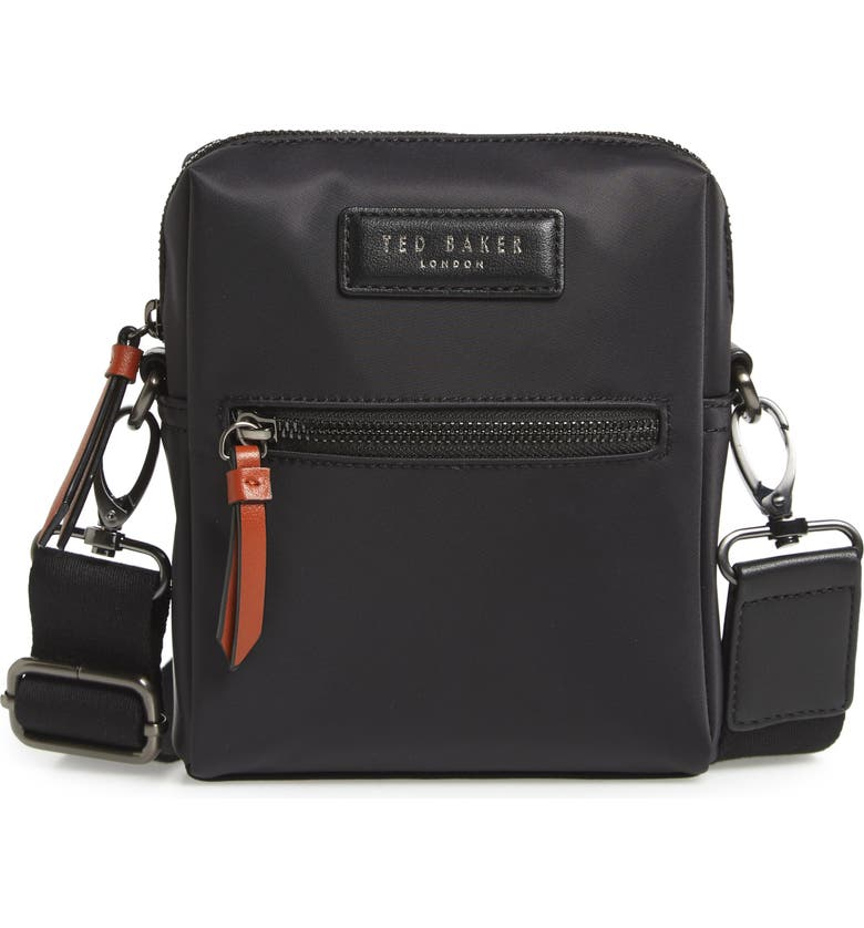 TED BAKER LONDON Mini Flight Bag, Main, color, 001
