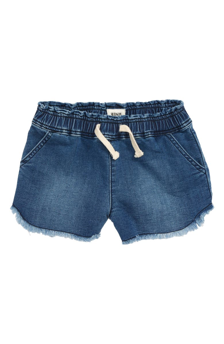 HUDSON JEANS Katie Cutoff Knit Denim Shorts, Main, color, 497