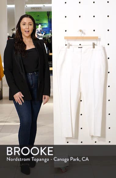 Stretch Twill Crop Pants, sales video thumbnail