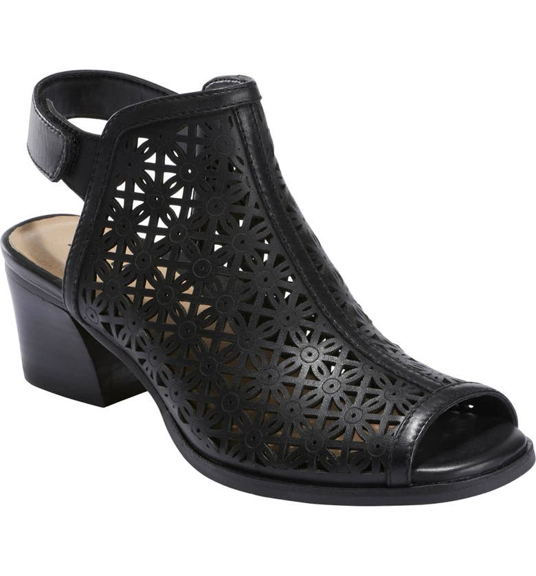 EARTH<SUP>®</SUP> Murano Mist Sandal, Main, color, BLACK LEATHER