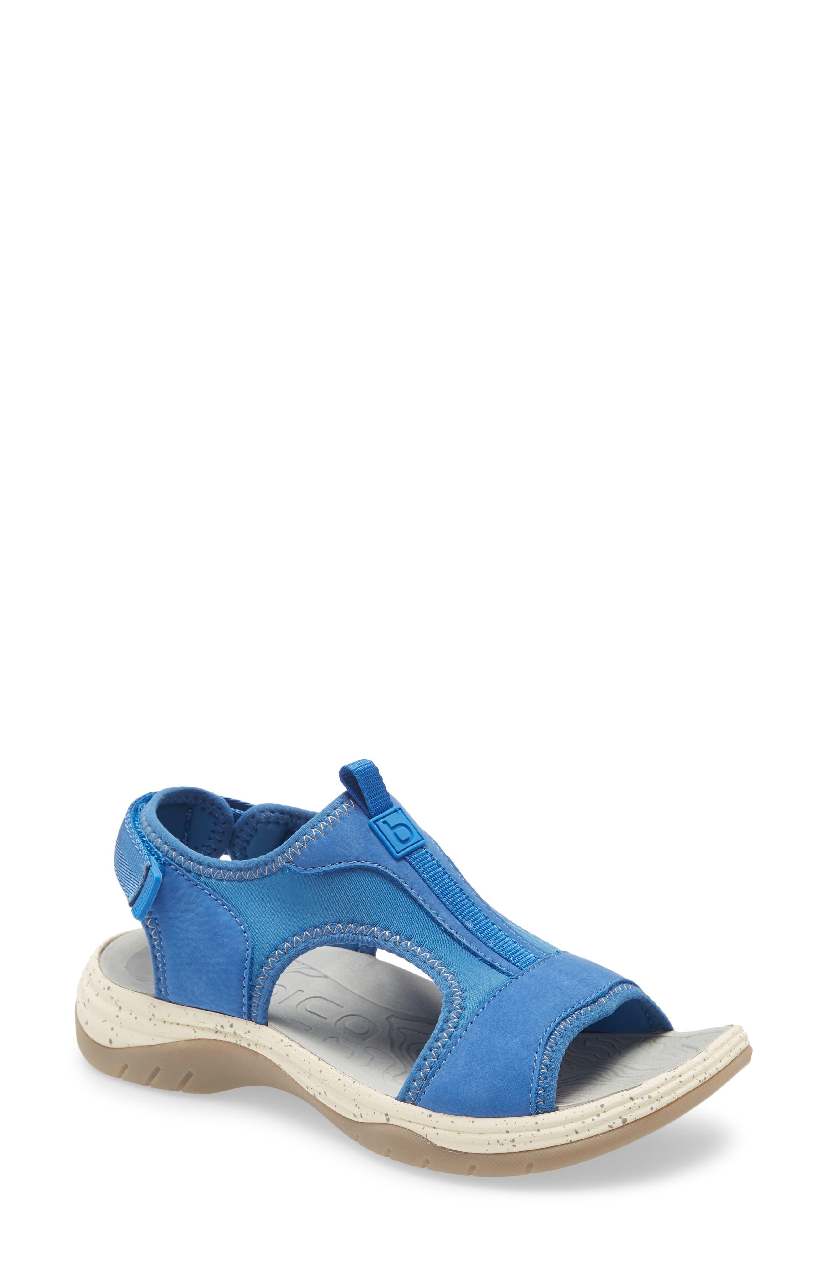 Women's Bionica Niagra Water Friendly Sport Sandal, Size 10 M - Blue