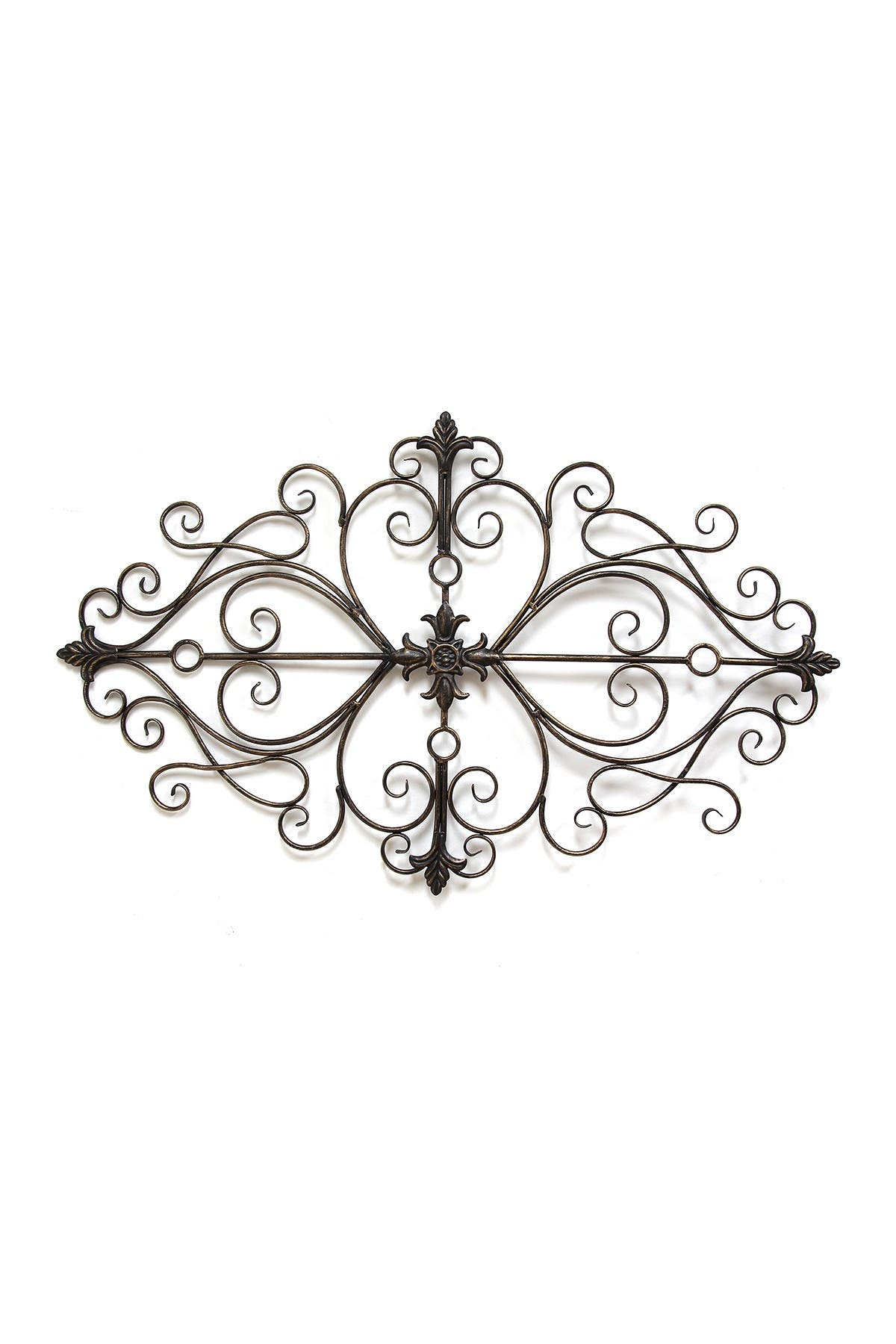 Image of Stratton Home Black Traditional Scroll Wall Decor