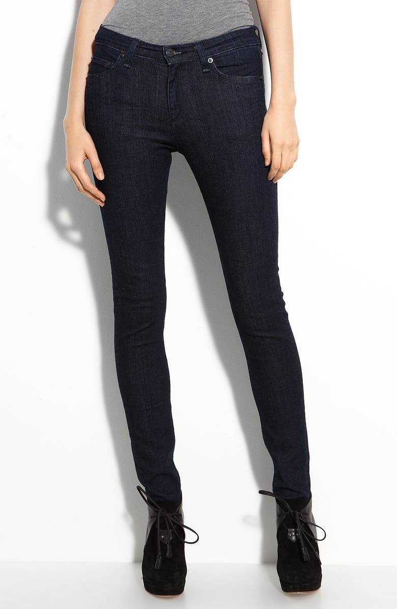 RAG & BONE/JEAN High Rise Skinny Jeans, Main, color, 001