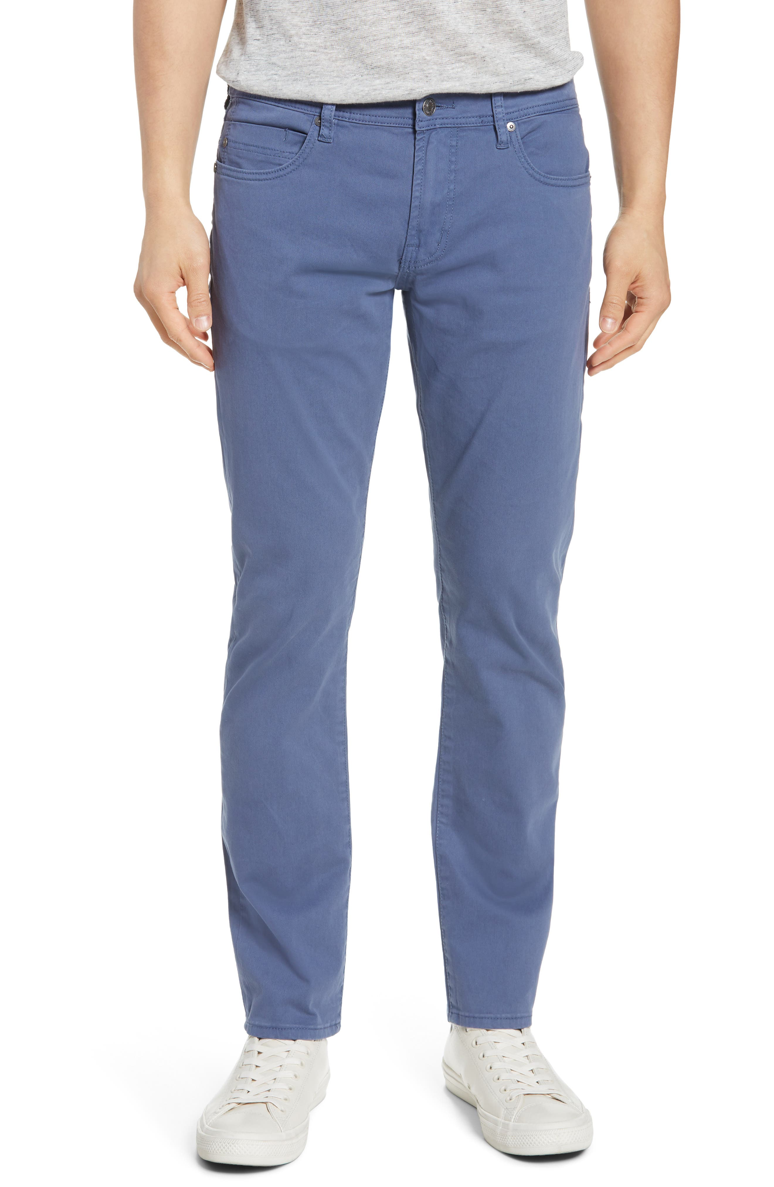 Image of Liverpool Jeans Co Kingston Modern Straight Leg Twill Pants