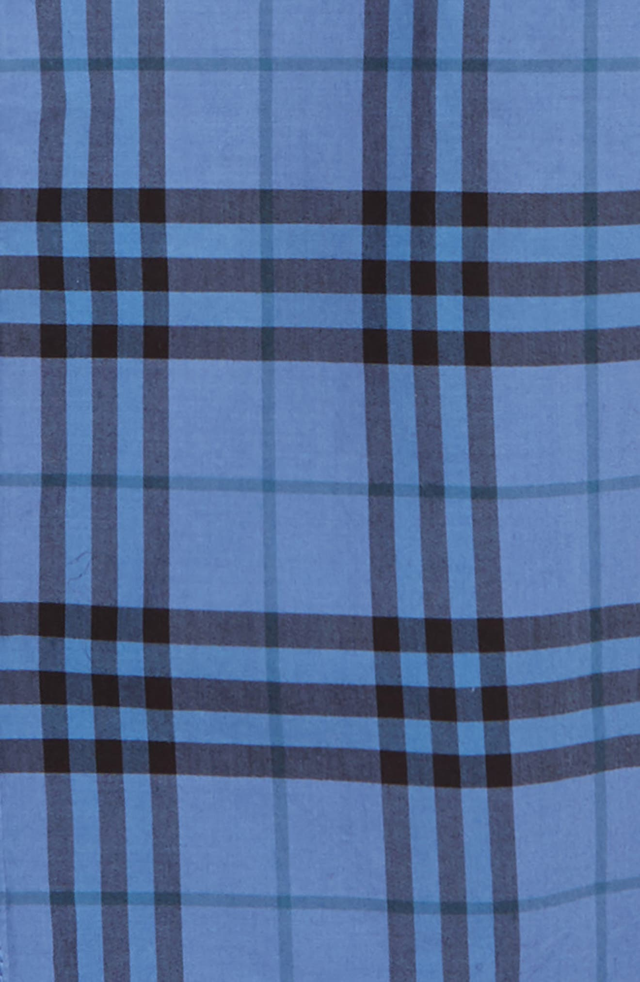 ,                             Sammi Dye Plaid Woven Shirt,                             Alternate thumbnail 2, color,                             DUSTY BLUE