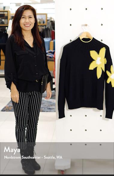 Floral Turtleneck Sweater, sales video thumbnail