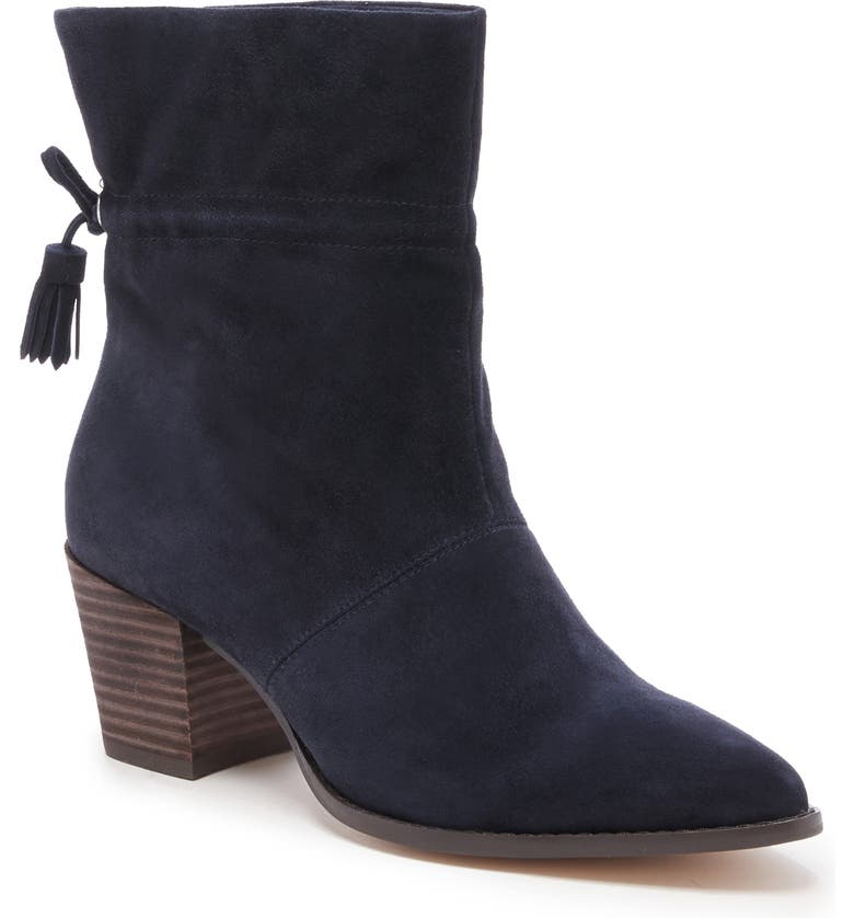 SOLE SOCIETY Adela Bootie, Main, color, MIDNIGHT LEATHER