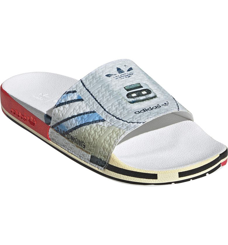 RAF SIMONS BY ADIDAS RF Micro Adilette Sport Slide, Main, color, 140