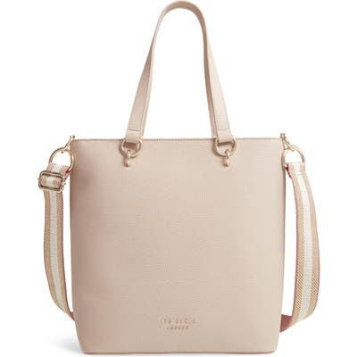 Ted Baker London Amarie Branded Strap Tote - Brown