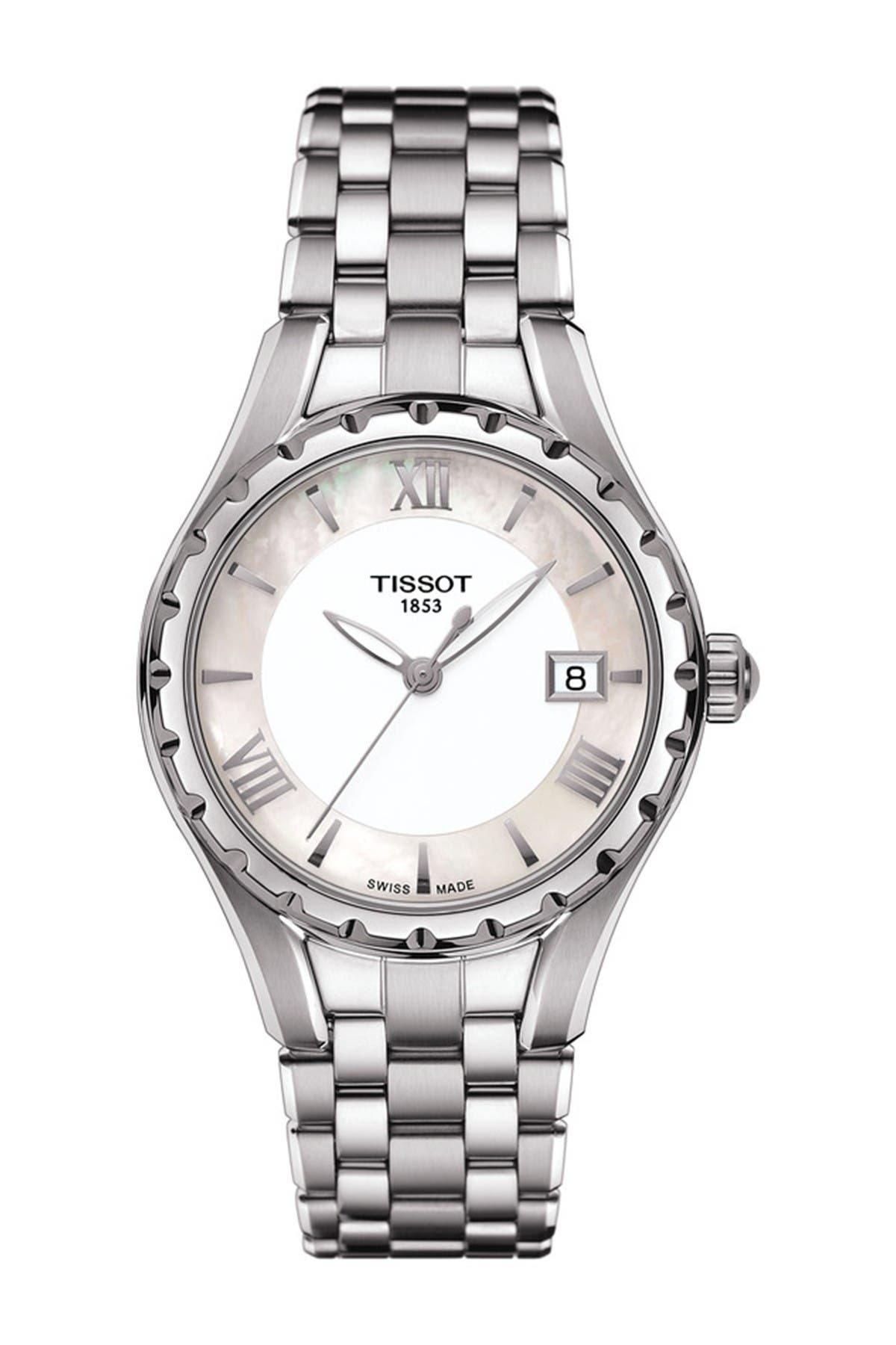 Image of Tissot Women's Lady Weave Bracelet Watch, 34mm