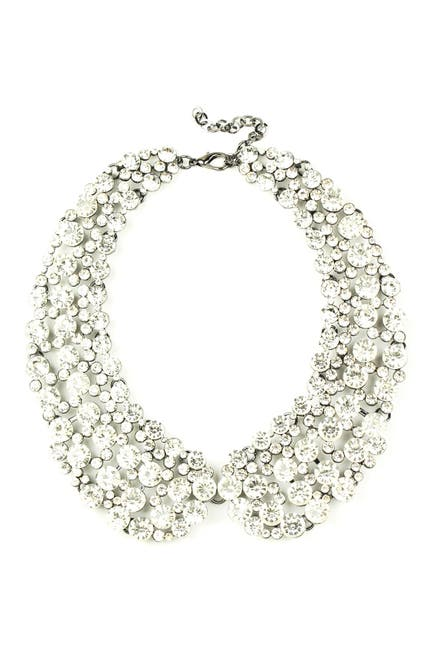 Image of Eye Candy Los Angeles Diana Crystal Cluster Collar Necklace