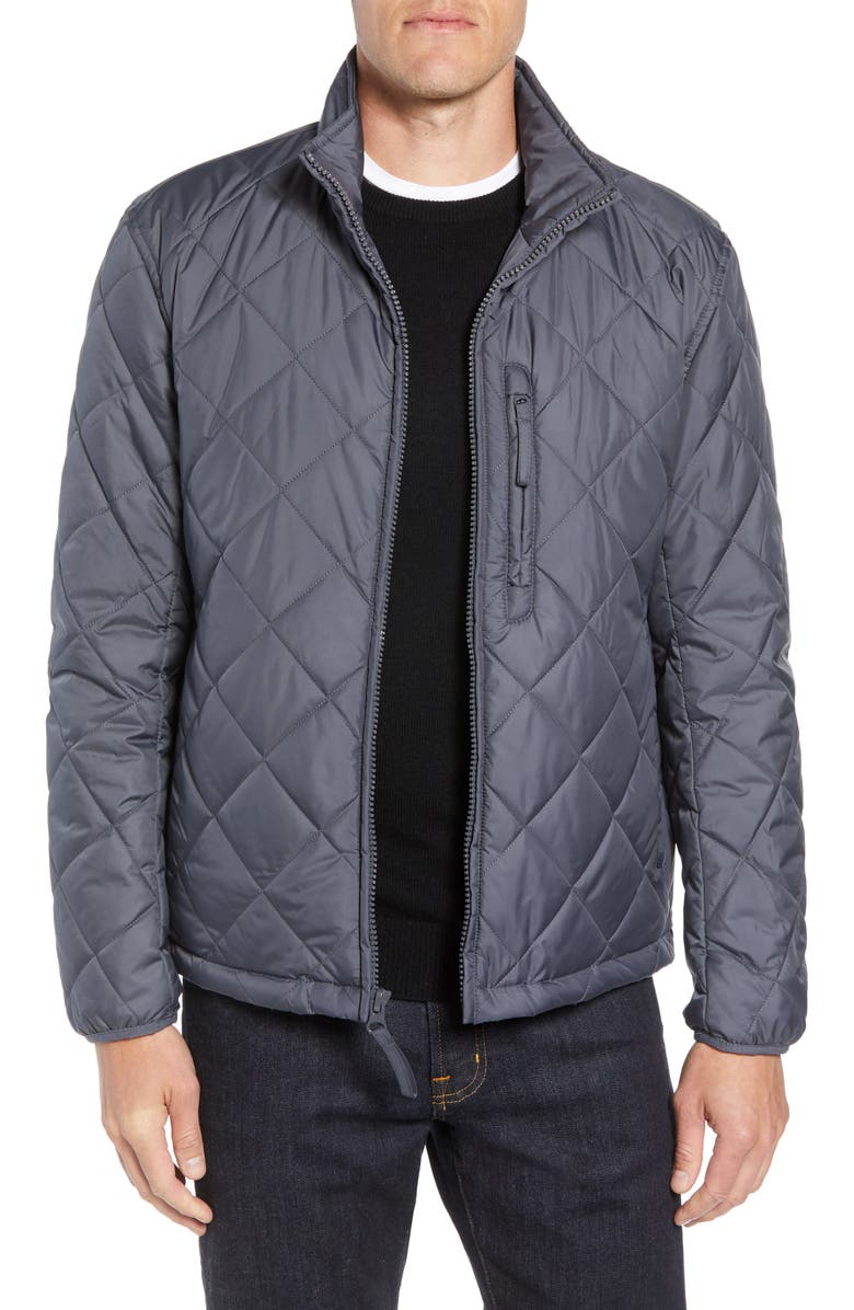 MARC NEW YORK Humboldt Quilted Jacket, Main, color, MAGNET
