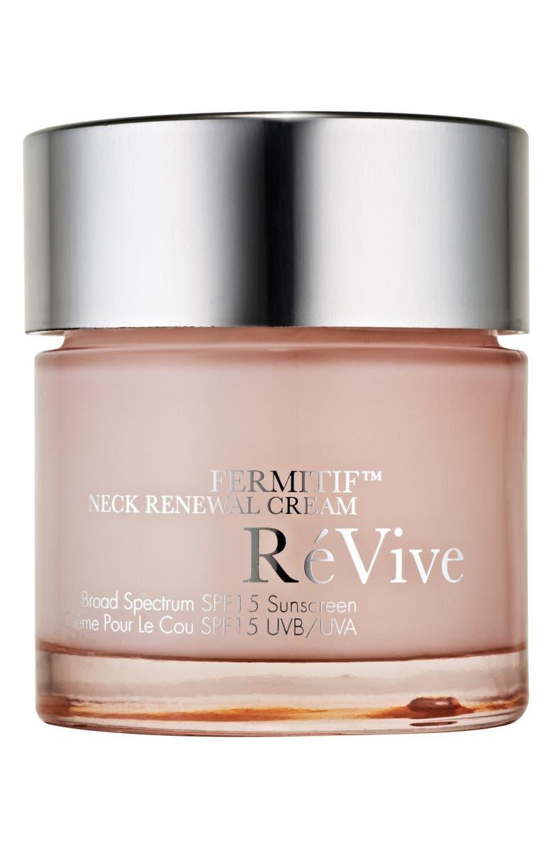RÉVIVE<SUP>®</SUP> Fermitif<sup>™</sup> Neck Renewal Cream, Main, color, 000