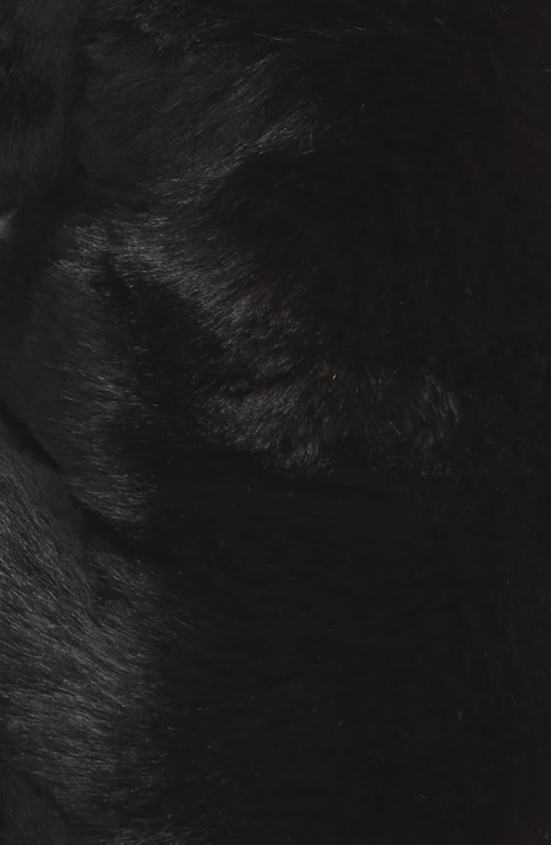,                             Faux Rabbit Fur Snood,                             Alternate thumbnail 3, color,                             001