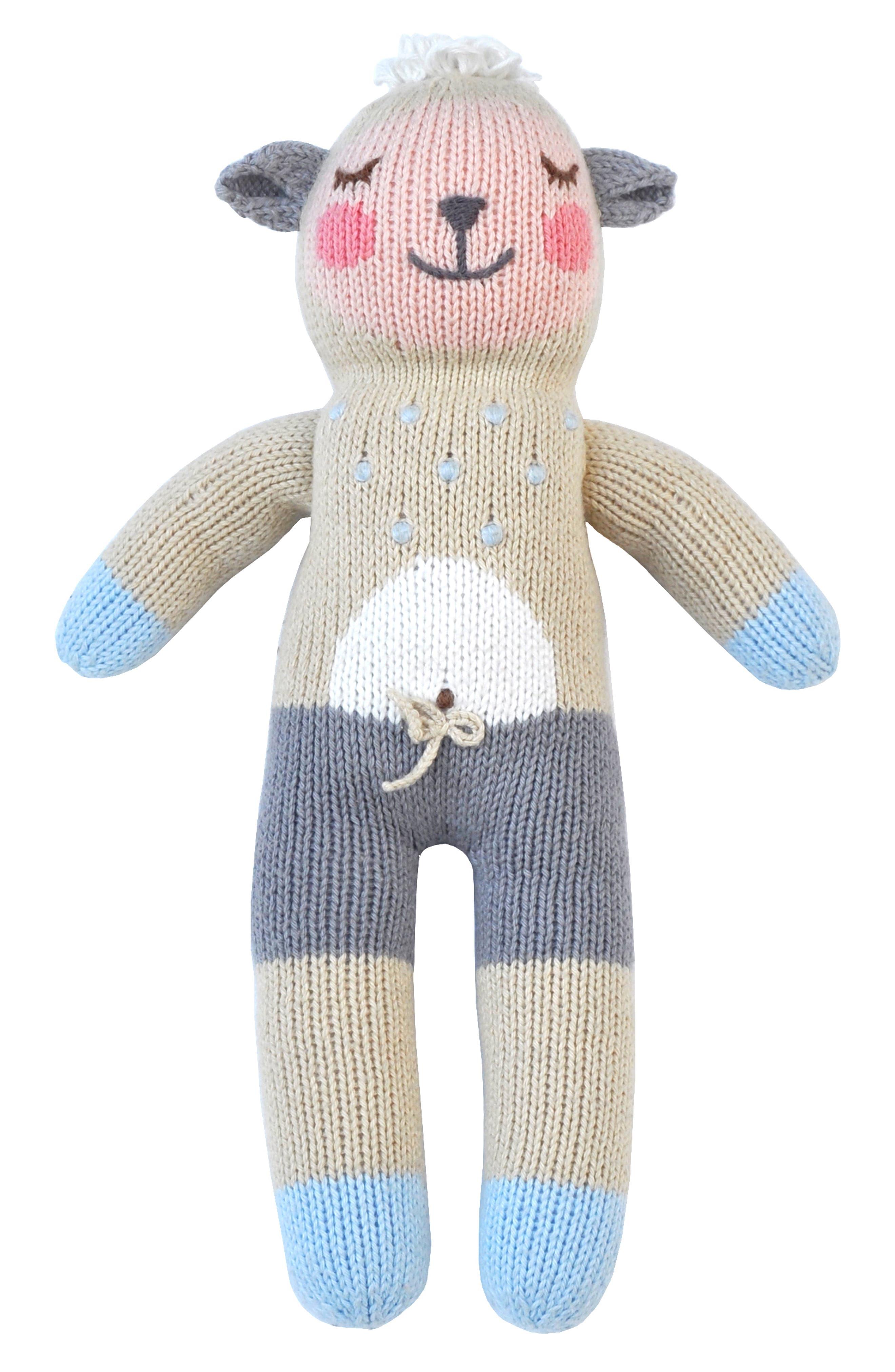 Blabla Woolly The Sheep Hand Knit Doll