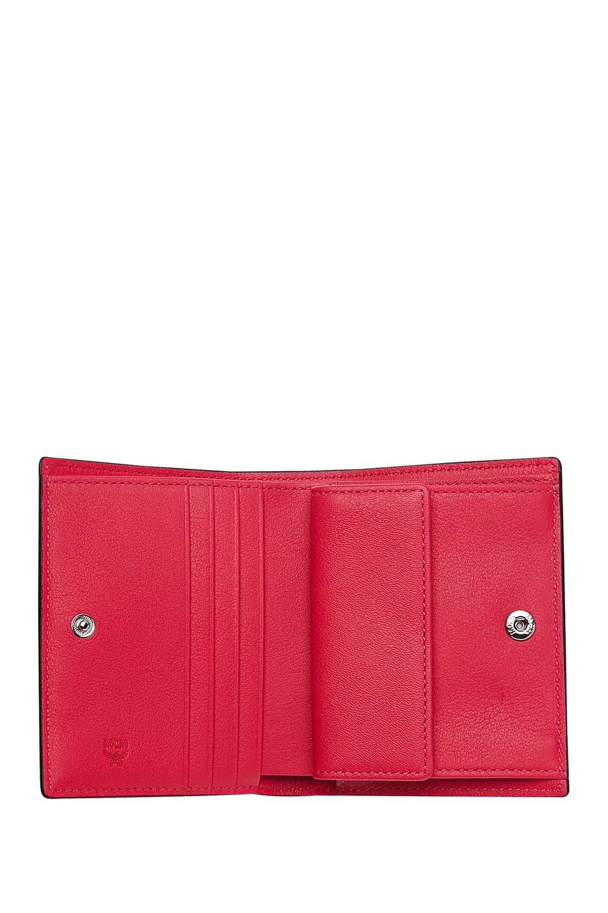 MCM | Patent Leather Bi-Fold Wallet | Nordstrom Rack