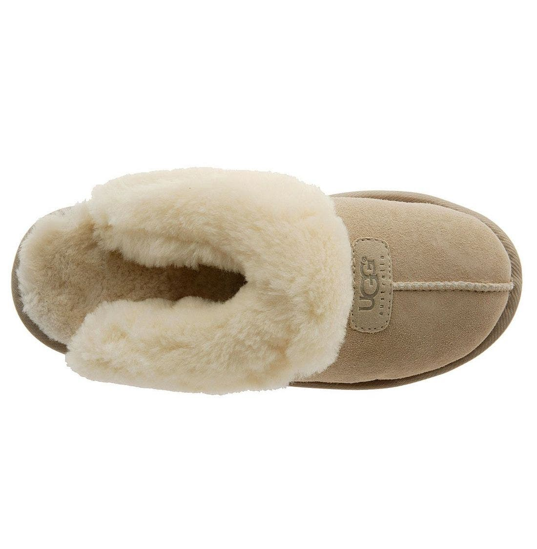 ,                             Genuine Shearling Slipper,                             Alternate thumbnail 188, color,                             SAN