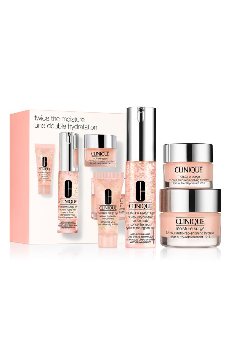 CLINIQUE Twice the Moisture Set, Main, color, NO COLOR