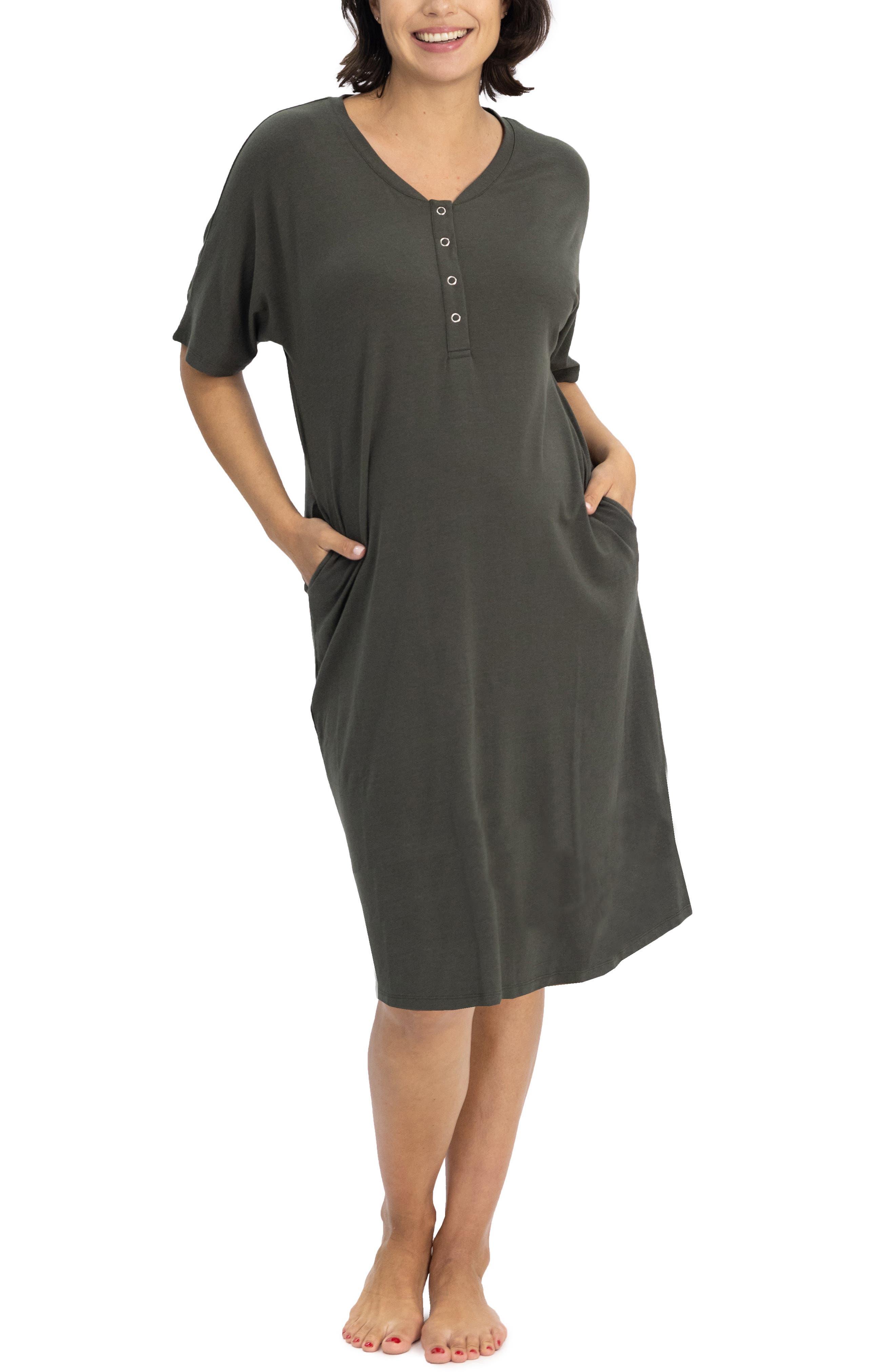 Mama Hospital Maternity/nursing Nightgown