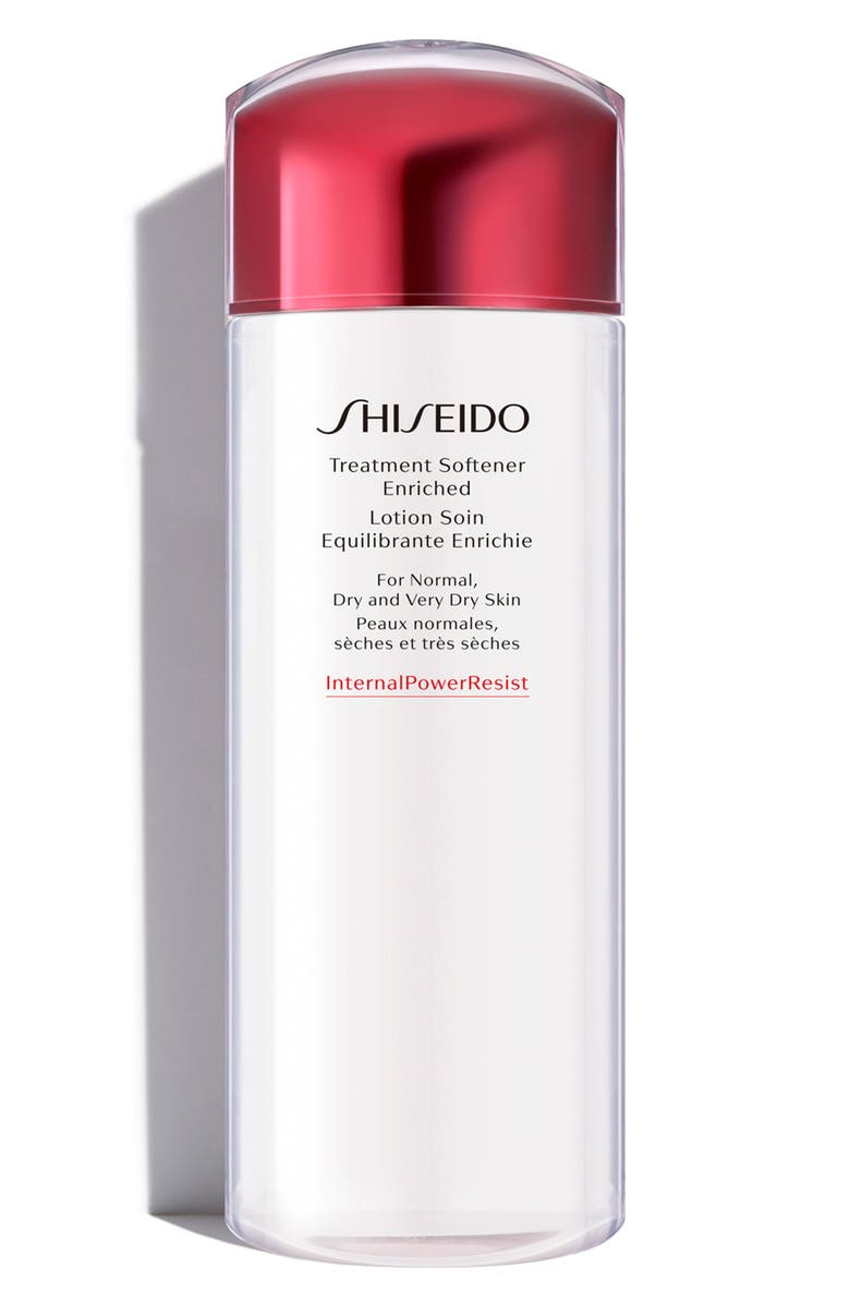 SHISEIDO Treatment Softener Enriched Lotion for Normal to Dry Skin, Main, color, NO COLOR
