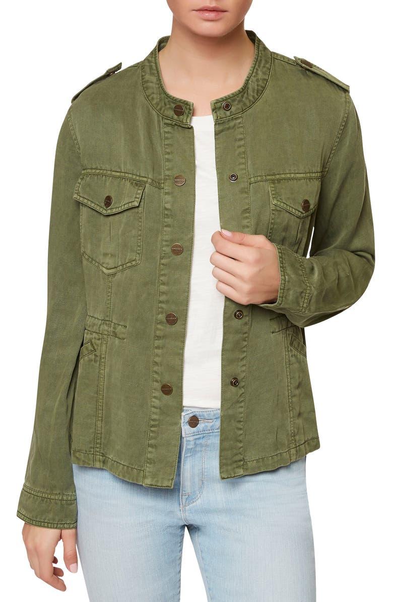 SANCTUARY Marni Twill Utility Jacket, Main, color, 300