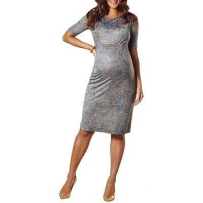 Tiffany Rose Anna Maternity Shift Dress, Blue
