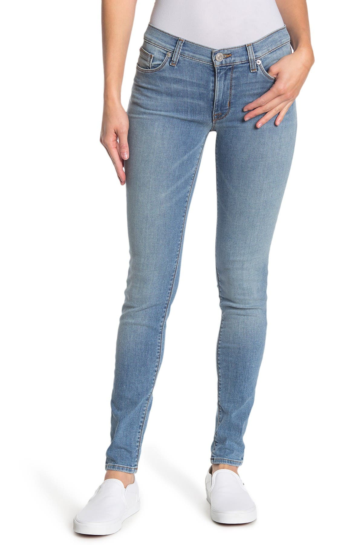 Image of HUDSON Jeans Blair High Rise Skinny Ankle Jeans